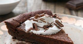 Bittersweet Chocolate Bourbon Tart | Goodies | Pinterest