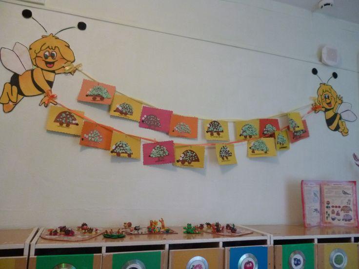 Оформление приемной в детском саду картинки