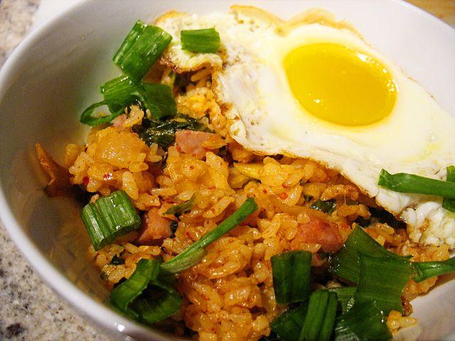 Kimchi Fried Rice | Dinner | Pinterest