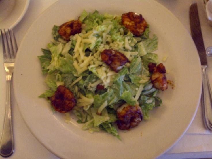 Shrimp Ceasar Salad in New York | Food around the World | Pinterest