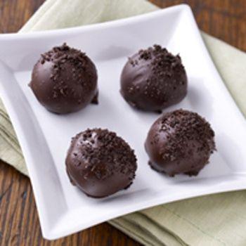 Easy OREO Truffles Recipe - ZipList | Desserts | Pinterest