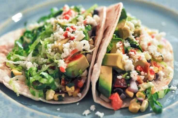 Black Bean Tacos with Corn Salsa — O&O Eats