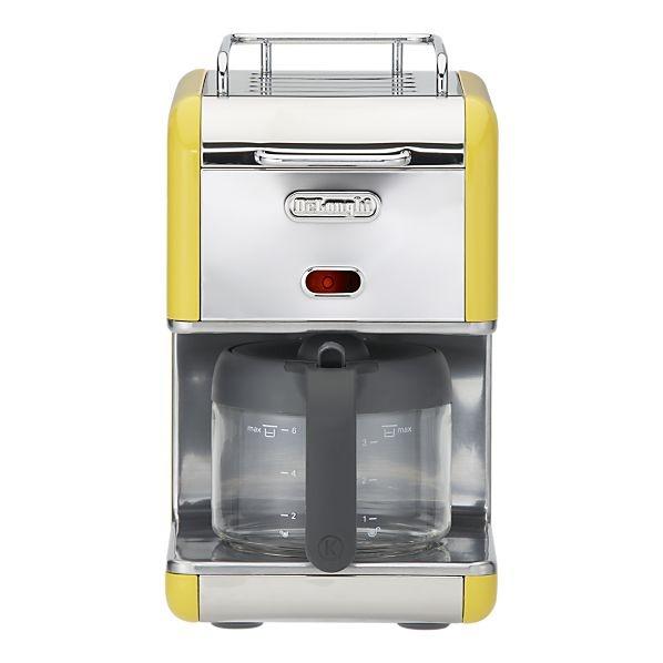 DeLonghi kMix 5-Cup Drip Coffee Maker Coffee, Tea or Me Baby? Touc?