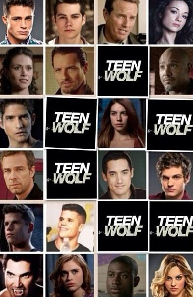 Teen wolf cast names - photo#1