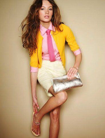 Images We Love — Pink Yellow and Metallic