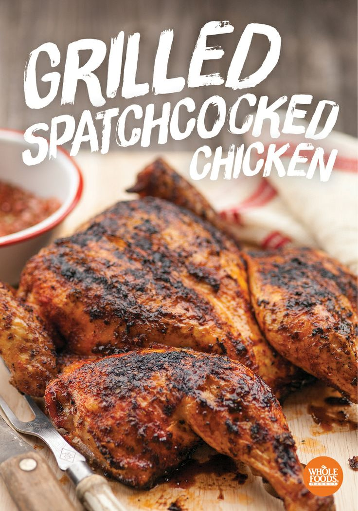Grilled spatchcocked chicken recipes