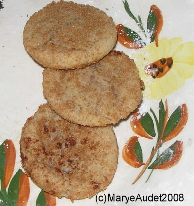 Maple Brown Sugar Snickerdoodles | MABE food | Pinterest