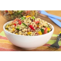 Quinoa Salad with Toasted Almonds | Recipes - Salads | Pinterest