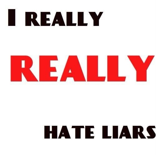 i hate people who lie quotes - photo #16