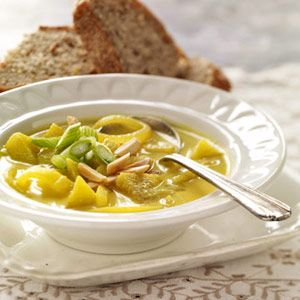 Missouri Apple Soup. More favorite fall recipes: http://www.midwestliving.com/food/holiday/25-fabulous-fall-recipes/