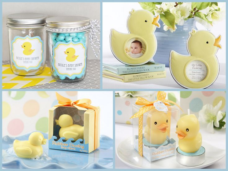 Baby Shower Rubber Duck Party Favors from HotRef.com