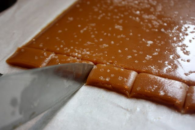 soft salted caramels (no corn syrup!). I recommend not using the salt ...