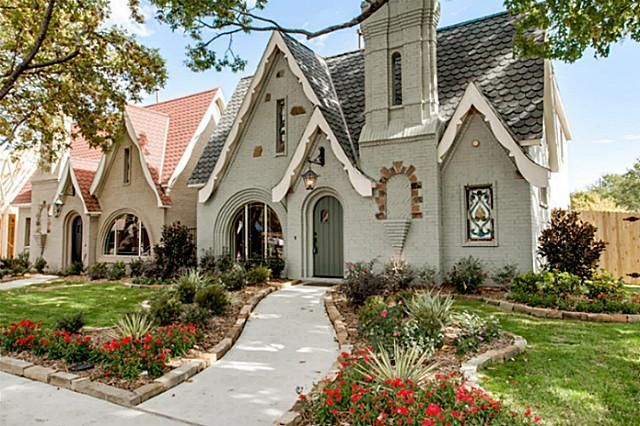charming Tudor new build in the Historic district of McKinney is a ...