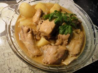 Veronica's Kitchen: Hong King Style Chicken & Potato Curry
