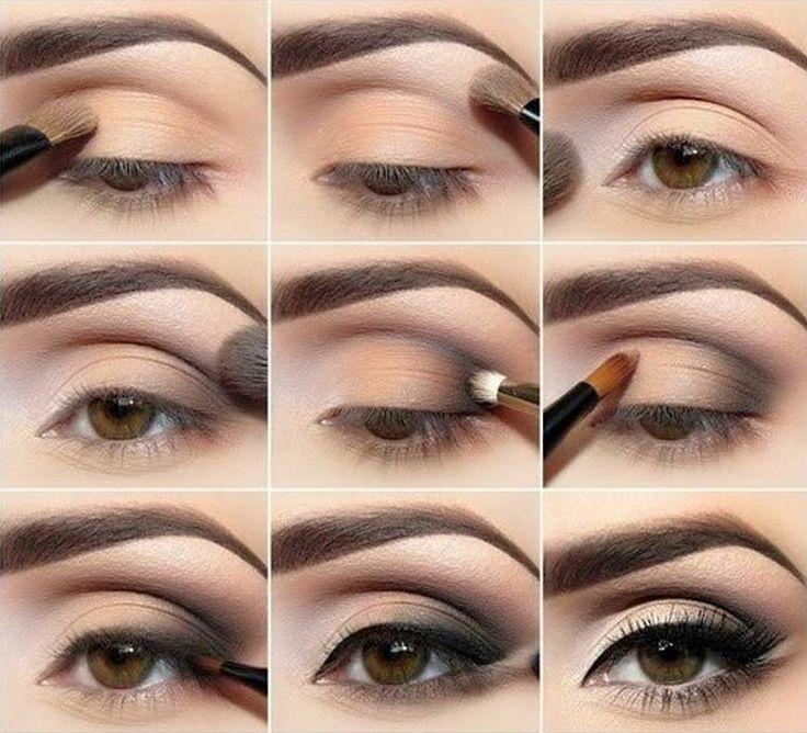 Дневной макияж для глаз поэтапно