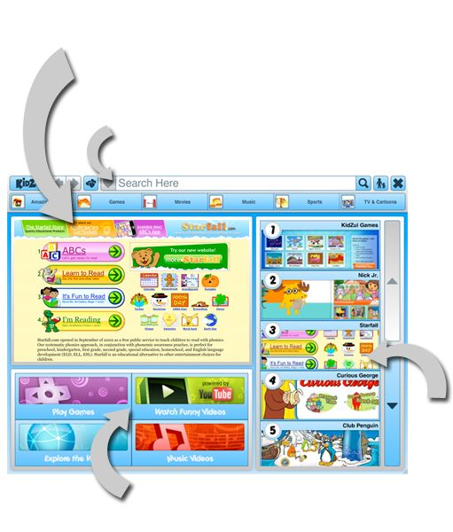 starfall games for kids online