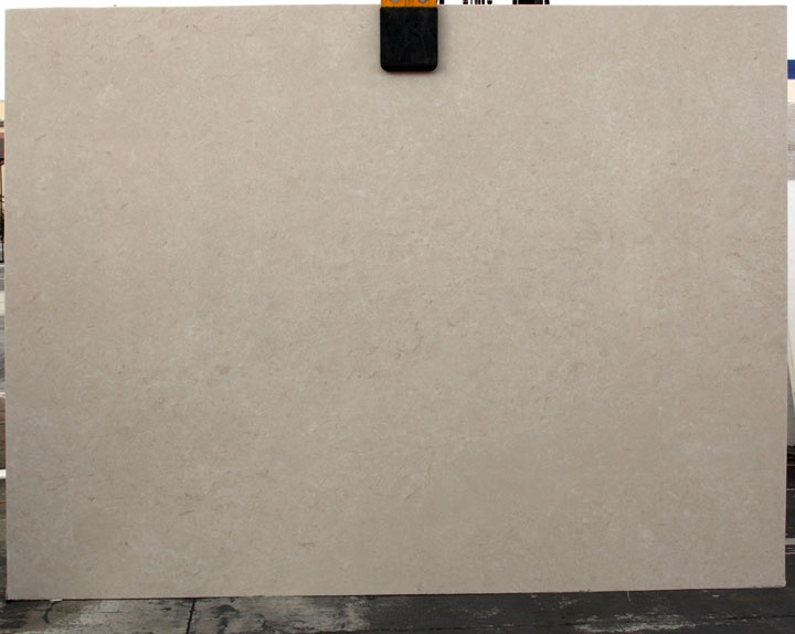 Polished Crema Ella 'select' marble by Agora Surfaces. Beautiful and smooth.