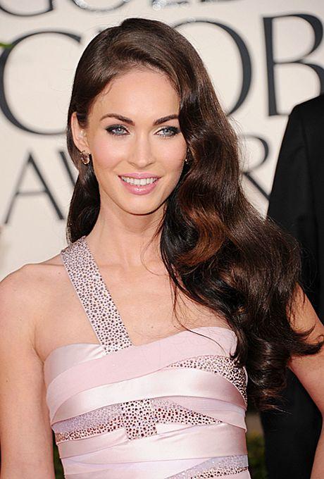 Long, Lush Wavy Wedding Hairstyle - Megan Fox's Long, Lush Waves