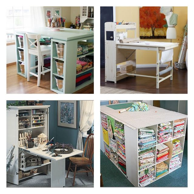 Craft Room Table Ideas 640 x 640