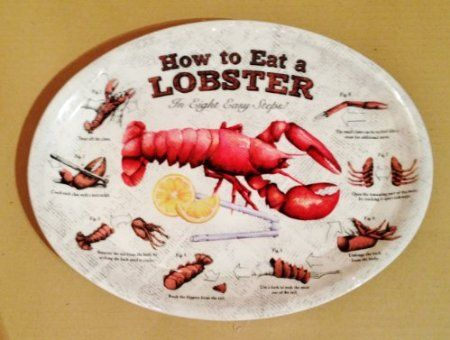 How To EAT LOBSTER plates