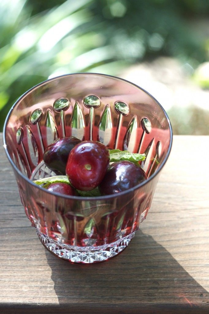 Cherry Mojito | Fruitylicious Cocktails | Pinterest
