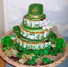 cute candy cake for St. Patricks day