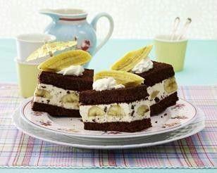 banana split kuchen