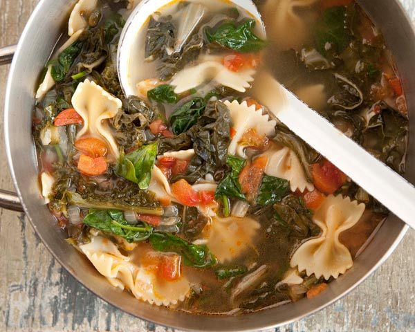 Hearty Greens Soup | Recipe