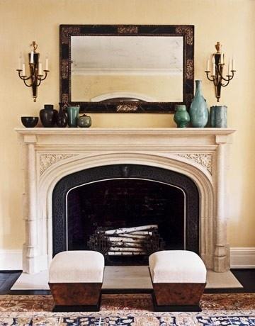 Mantel Decor For The Home Pinterest