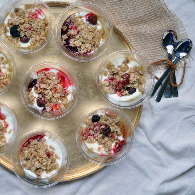 Roasted Plum Parfaits and BIG news from @TTableKitchen