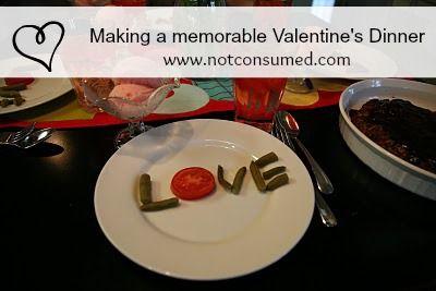 valentine's dinner at home