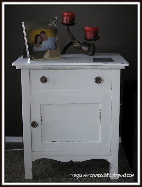 End table redo furniture ideas pinterest for Redo table top ideas