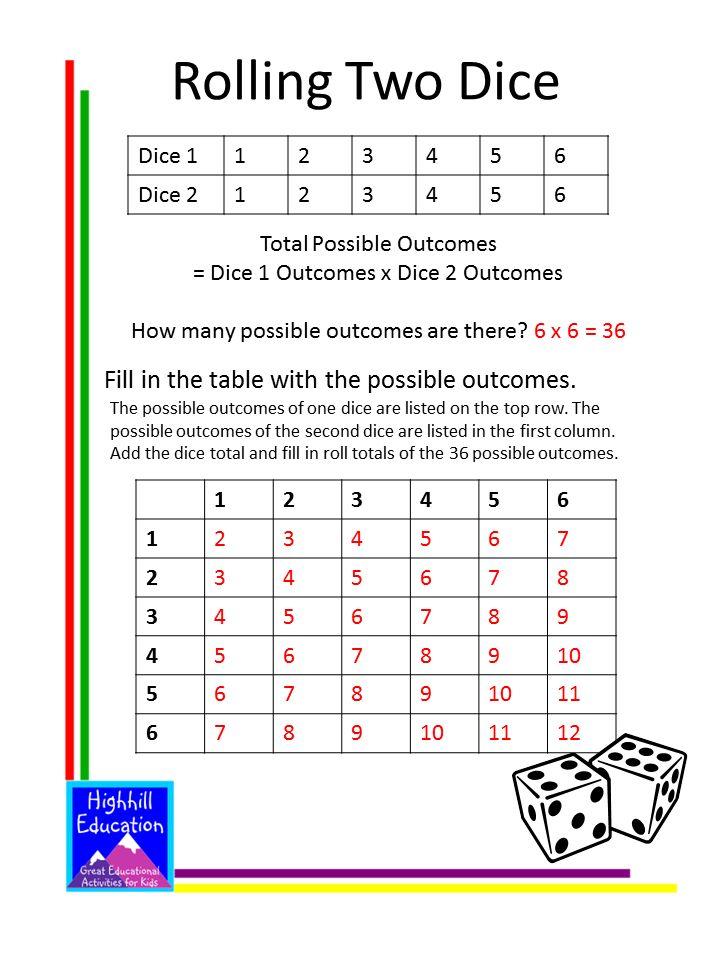 Free Probability Worksheets for Kids | Teacher Ideas | Pinterest