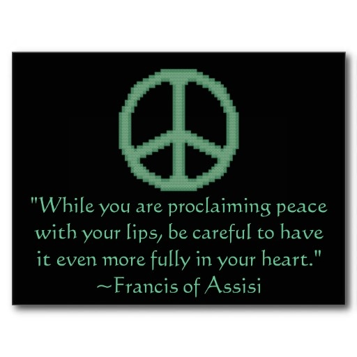 St. Francis Assisi Quotes