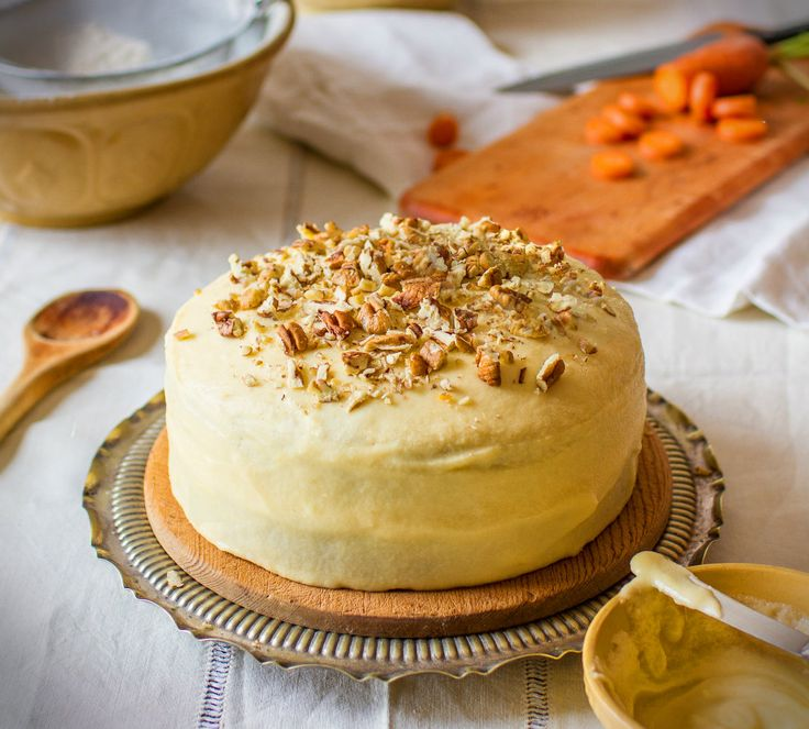 Carrot cake with dates and pecans | Cake Cake Cake Cake Cake..... | P ...