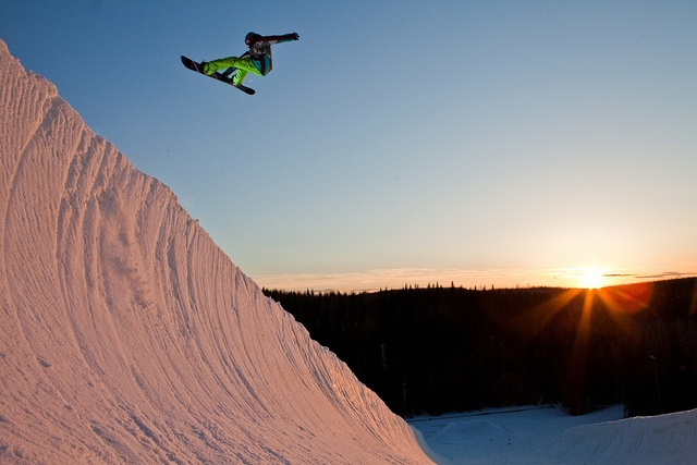 Jumping in Pyhä Fell by Visit Finland, via Flickr