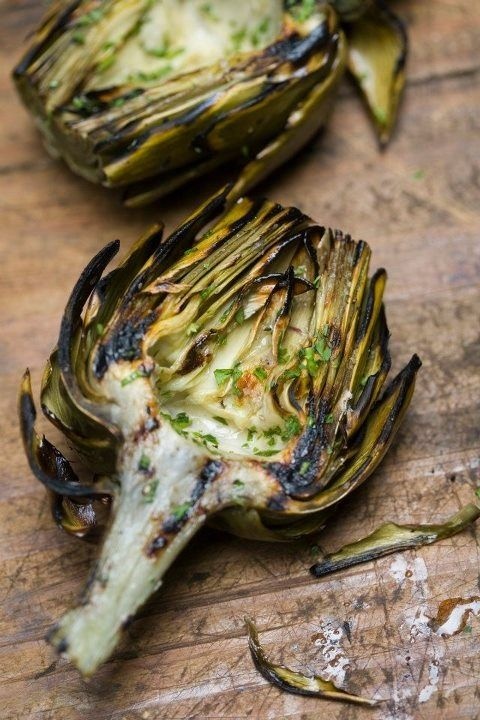 Grilled Artichokes | ***One dish which makes me a captive...*** | Pin ...
