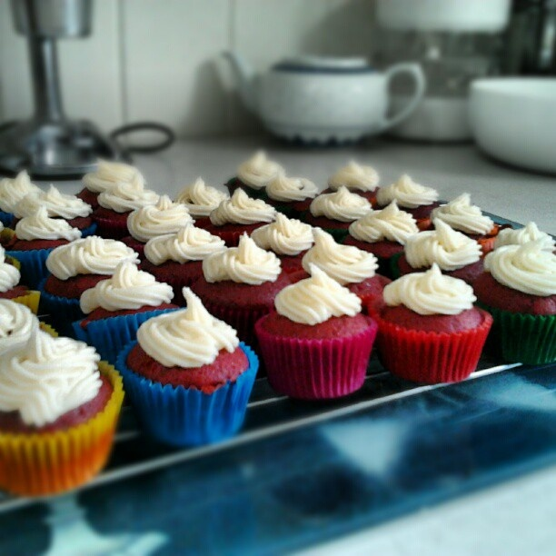 Projects and Projections: Southern Comfort and Red Velvet Cupcakes