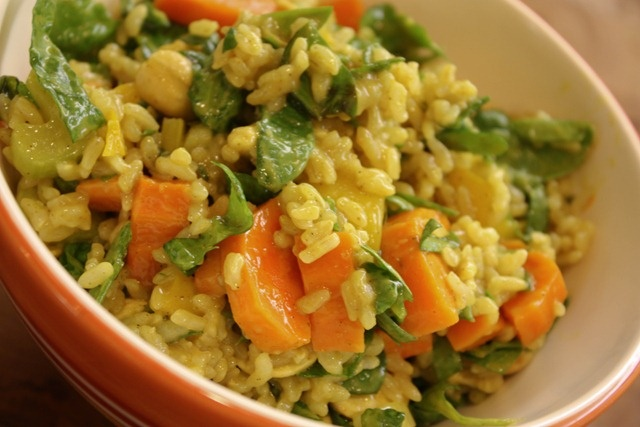 Coconut curry rice bowl   Recipes to try   Pinterest