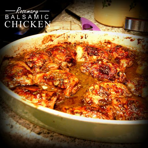 Rosemary Balsamic Chicken | Chicken Dinner | Pinterest