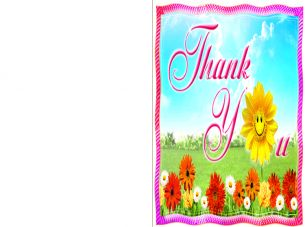 Sunflower Thank You Cards | Free Printable Cards | Pinterest: pinterest.com/pin/428475352018250294