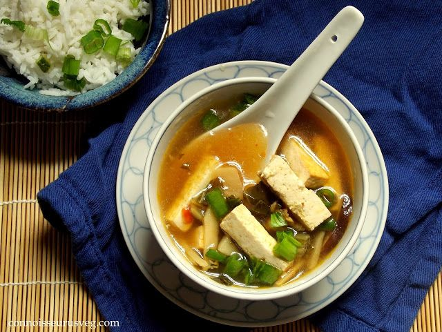 Hot and Sour Soup with Bok Choy | Soups | Pinterest