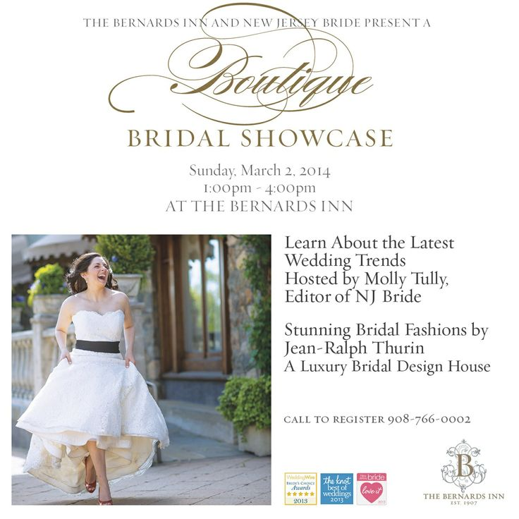 Hosted by new jersey bride magazine learn about the latest wedding