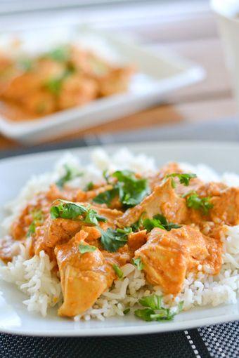 RECIPE - Slow Cooker Butter Chicken | FOOD! | Pinterest
