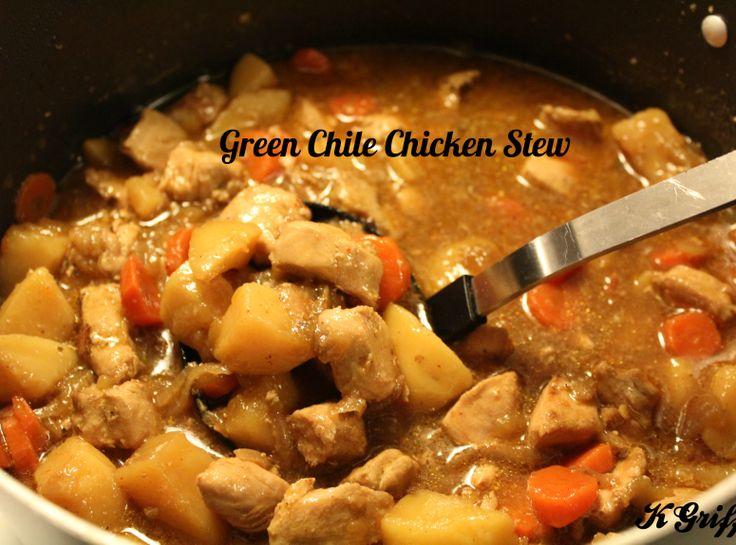 Green Chile Chicken Stew | Noms! | Pinterest