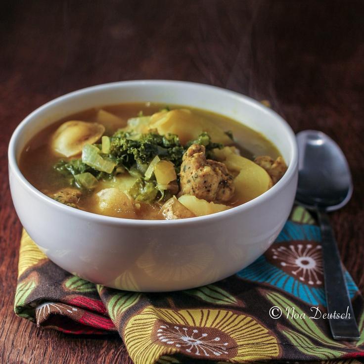 Potato, Kale & Sausage Soup | Soups, Stews and Casseroles | Pinterest