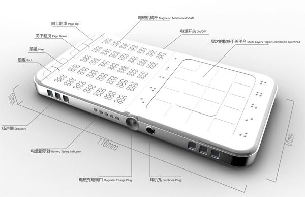 Braille Phone Objetos Innovadores Pinterest