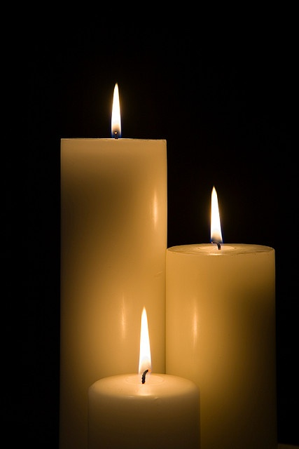 Candles make me smile