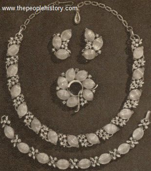 Lisners Lady Slipper Jewelry 1959
