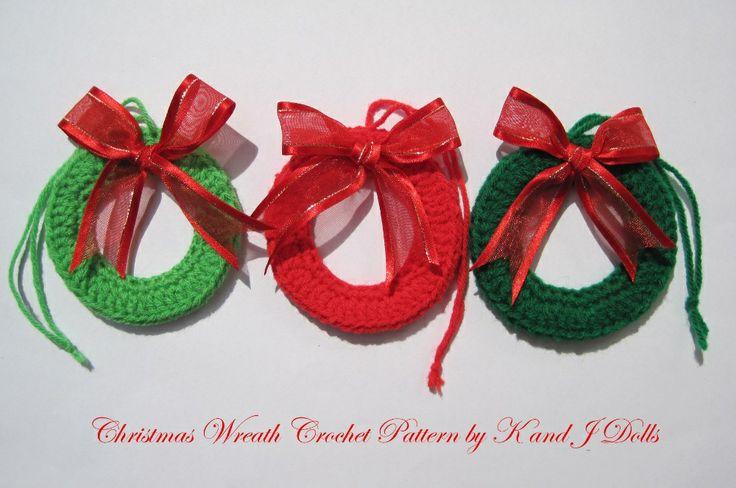 Free Crochet Christmas Ornament Pattern